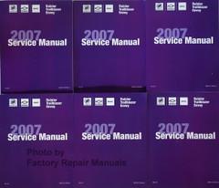 GM ST Truck 2007 Buick Rainier Chevrolet TrailBlazer EXT GMC Envoy Service Manuals
