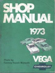 1973 Chevrolet Vega Factory Shop Manual Original Service Repair