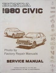 1980 Honda Civic Service Manual