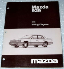 Mazda 929 1991 Wiring Diagrams