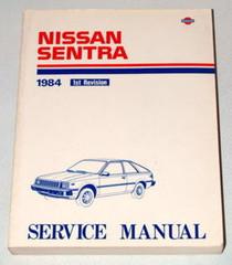 1984 NISSAN SENTRA Factory Shop Service Repair Manual B11 Series