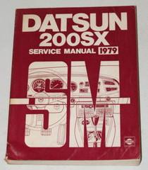 1979 Datsun 200SX Factory Service Manual Original Nissan Shop Repair