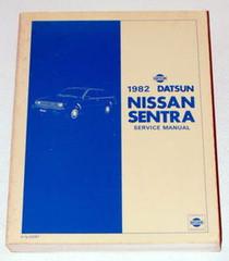 1982 Nissan Sentra Service Manual