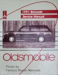 1991 Oldsmobile Bravada Service Manual