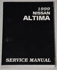 1999 Nissan Altima Factory Service Manual - Original Shop Repair