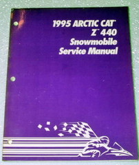 1995 ARCTIC CAT Z440 Snowmobile Factory Dealer Shop Service Repair Manual 440cc