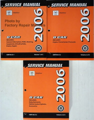Service Manual Cadillac CTS / CTS-V Volume 1, 2, 3