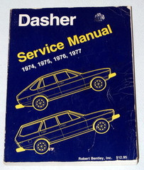 1974 - 1977 Volkswagen Dasher Service Manual