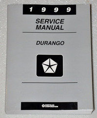 1999 Dodge Durango Factory Service Manual - Original Shop Repair