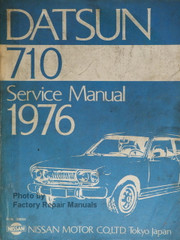 1976 Datsun 710 Original Factory Service Manual