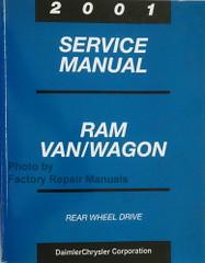 2001 Service Manual Ram Van/Wagon Rear Wheel Drive