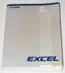 1988 HYUNDAI EXCEL GS GL GLS Sedan Hatchback Factory Shop Service Repair Manual
