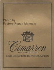 1982 Cadillac Cimarron Service Manual