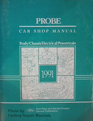 Probe Car Shop Manual 1991 Ford