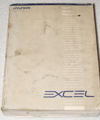 1991 HYUNDAI EXCEL GL GS GLS Sedan Hatchback Factory Shop Service Repair Manual