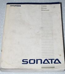 1990 HYUNDAI SONATA GL GLS Sedan Factory Dealer Shop Service Repair Manual 2.4L