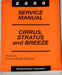 2000 Service Manual Dirrus, Stratus and Breeze