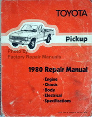 Toyota Pickup 1980 Repair Manual