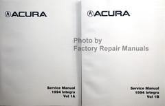 1994 Acura Integra Service Manual Volume 1, 2
