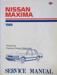 Nissan Maxima 1985 Service Manual