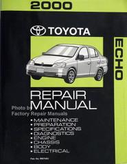 2000 Toyota Echo Repair Manual