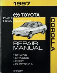 1997 Toyota Corolla Repair Manual