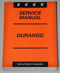 2000 Dodge Durango Factory Service Manual - Original Shop Repair
