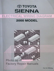 Toyota Sienna Electrical Wiring Diagrams 2000 Model