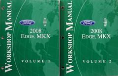 Ford Lincoln 2008 Edge, MKX Workshop Manual Volume 1, 2