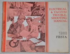 1980 Ford Fiesta Electrical & Vacuum Troubleshooting Manual