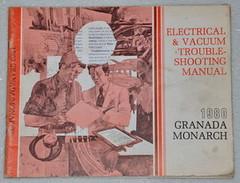 1980 Ford Granada Mercury Monarch Electrical & Vacuum Troubleshooting Manual