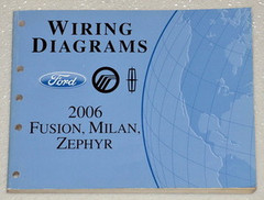 Wiring Diagrams Ford Mercury Lincoln 2006 Fusion, Milan, Zephyr