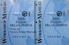 F2006 Fusion, Milan, Zephyr Workshop Manual