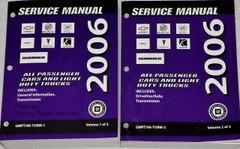 2006 Chevrolet, Buick, Cadillac GMC, Pontiac, Saturn, Hummer Car & Truck Automatic & Manual Transmission Unit Repair Manual