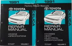 1991 Toyota Camry Electrical Wiring Diagrams Original Factory Manual Factory Repair Manuals