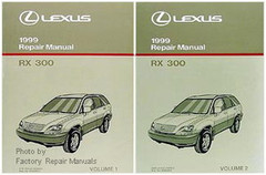 Lexus 1999 Repair Manual RX 300