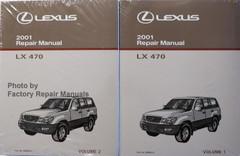 2001 LEXUS IS300 Original Factory Shop Service Repair ...