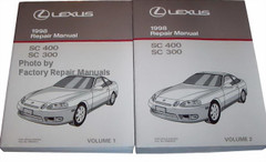 Lexus 1998 Repair Manual SC 400 SC 300