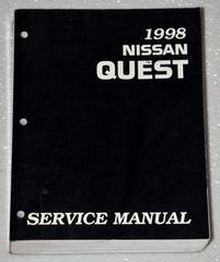 1998 Nissan Quest Service Manual