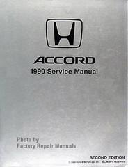 Honda Accord 1990 Service Manual