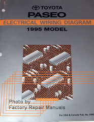 Toyota Paseo Electrical Wiring Diagrams 1995 Model