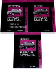 2009 Toyota FJ Cruiser Repair Manual Volume 1, 2, 3