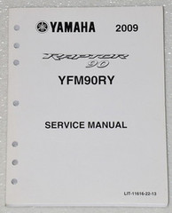 2009 Yamaha Raptor 90 ATV Service Manual YFM90RY