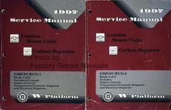 1997 Cutlass Supreme, Monte Carlo and Lumina Factory Shop Service Manual Volume 1, 2