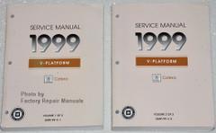 1999 Cadillac Catera Factory Service Manuals