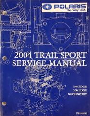 2004 Polaris Edge 500 340 Super Sport Snowmobile Service Manual