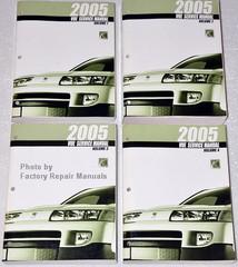 2005 Saturn View Service Manual Volume 1, 2, 3, 4
