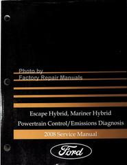 Escape Hybrid, Mariner Hybrid Powertrain Control/Emissions Diagnosis 2008 Service Manual