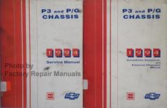 1994 Chevy GMC P3 P30 Motor Home Chassis StepVan Hi-Cube Shop Service Manual Volume 1, 2