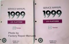 Service Manual 1999 Chevrolet Tracker Volume 1, 2